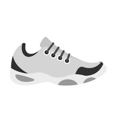 sneakers for tennis icon flat style vector image