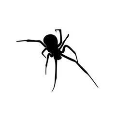 Spiders design logo spiders with various shapes vector