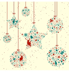Vintage Christmas Elements vector