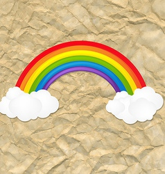 Vintage Color Rainbow vector image