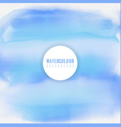 Water themed watercolour background vector