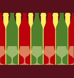drink card vector image vector image