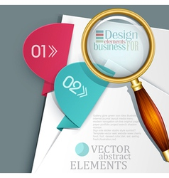 an office background vector image vector image