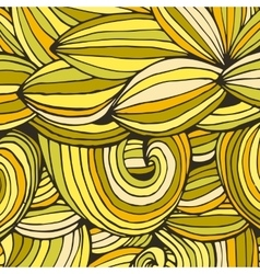 Color doodle background lines vector image vector image