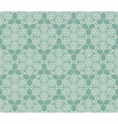 Seamless Lacy Winter Pattern with Snowflakes vector image vector image
