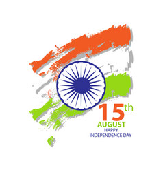 india independence day card august 15 vector image