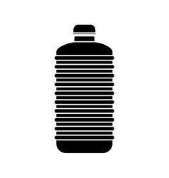Isolated bottle of water design vector image