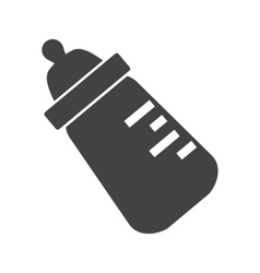 Milk Bottle II vector image