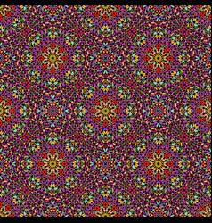 Multicolor oriental bohemian gravel mosaic ethno vector