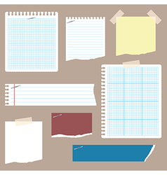 Notepaper 1 vector