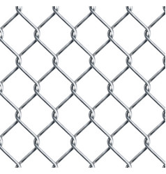 realistic chain link chain-link fencing texture vector image