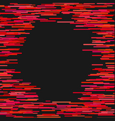 red abstract horizontal stripe background design vector image