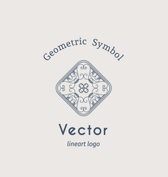 vintage ornament vector image
