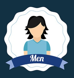 men design vector image
