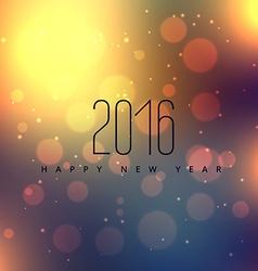 beautiful happy new year design vector image vector image