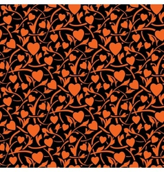 valentine day seamless texture vector image vector image
