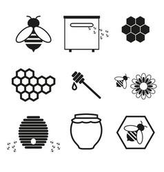 honey online icons vector image