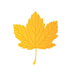 leaf plant silhouette icon vector image