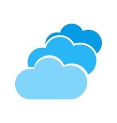 Multiple Cloud Servers vector
