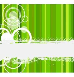 Stylish green banner vector illustration vector