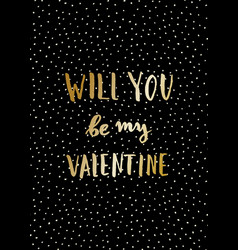 Valentine39s day card vector