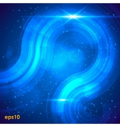 Abstract retro technology background vector image vector image