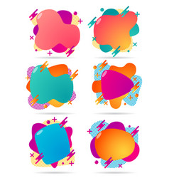 001 gradient abstract geometric shapes banners vector