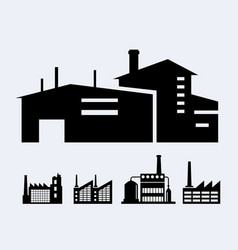 a set of design industrial vector image