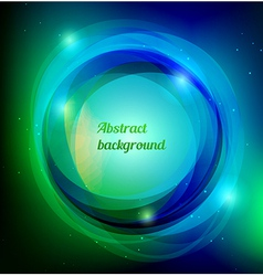 Dark swirl background vector
