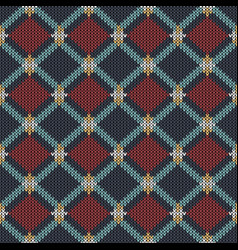 geometric abstract knitted pattern abstract vector image