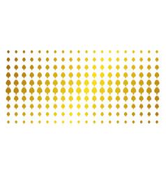 Opium poppy gold halftone matrix vector