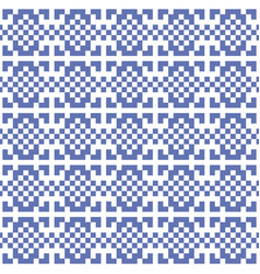 pixel ethnic background vector image