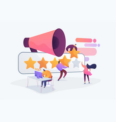 Rating concept vector