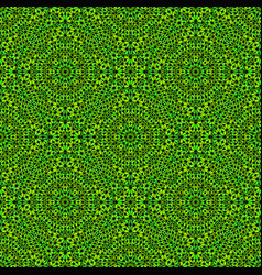Seamless oriental green bohemian stone mosaic vector