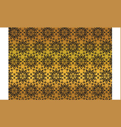 thai traditional pattern decorative vector image