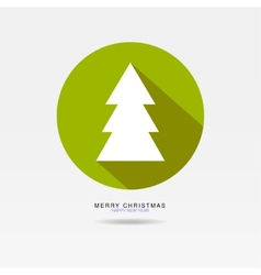 Tree Christmas vector image