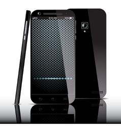 Smartphoneview vector image vector image