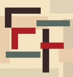 alphabet e f vector image