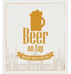Beer town vector