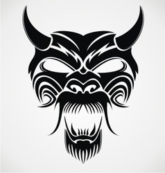 Devil Mask vector image