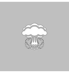 Explosion computer symbol vector