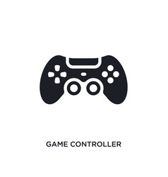 Game controller isolated icon simple element from vector