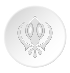Ghost icon flat style vector image