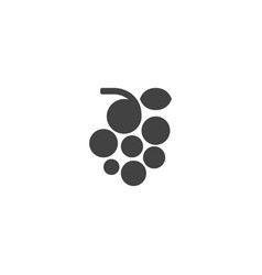 grape fruit icon vector image