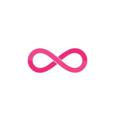 Infinity Icon vector image