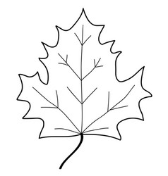 maple leaf mono sign 108 vector image