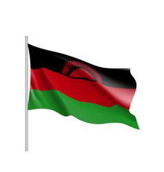 National flag of malawi vector