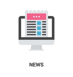 News icon concept vector