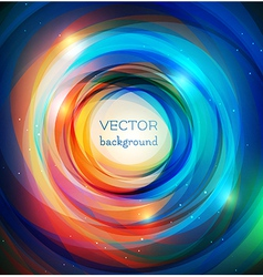 Rainbow rings background vector