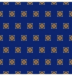 seamless pattern on a blue background 2 vector image